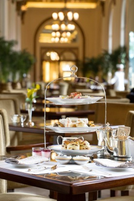 High tea at the Peninsula is a must-do for many visitors to Hong Kong.