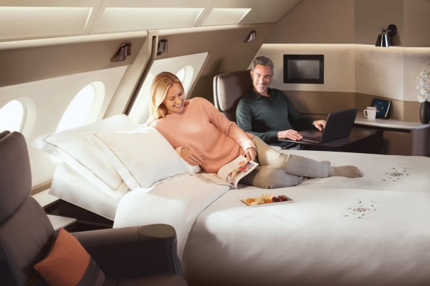 In 2017 Singapore Airlines' unveiled a new version of its A380 first-class suite.