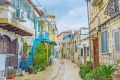 The streets of Safed, Israel, are hilly, narrow and twisted.