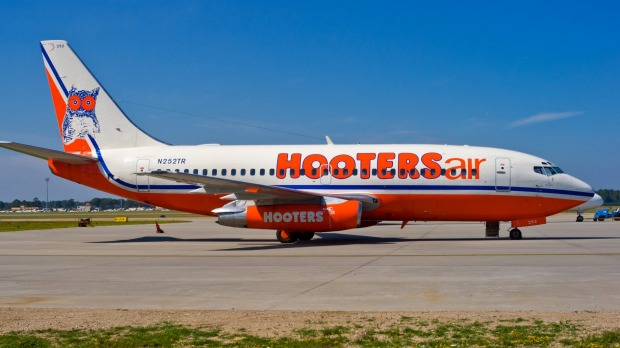 Hooters Air actually flew for three years.
