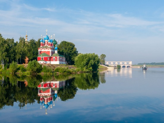 VOLGA RIVER: There are plenty of reasons to sail the Volga River, which holds a central role in Russian history and the ...