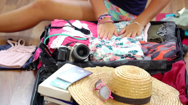 Having a checklist will help to reduce travellers' stress when getting ready for a holiday.