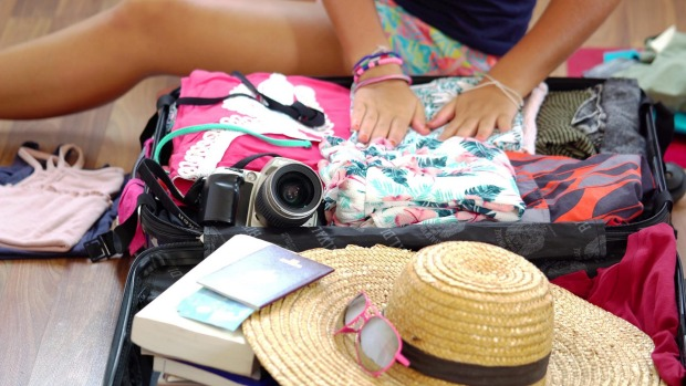 Tips to taking a holiday with only one small carry-on bag.