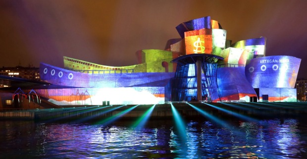 GUGGENHEIM MUSEUM, BILBAO: One of the world's most striking and universally admired masterpieces of architecture helped ...