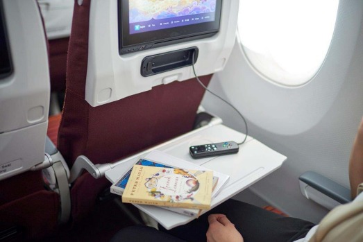 Economy class on the Thai Airways A350