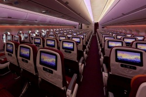 Thai Airways won the award for world's best economy class in this year's World Airlines Awards.