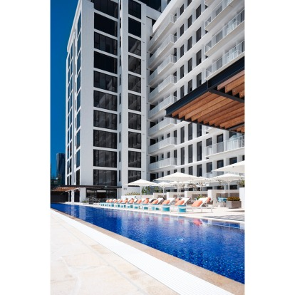 The Johnson, Brisbane: The Michael Klim-designed 50-metre alfresco pool makes checking into this funky, arts inspired ...