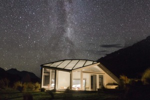 Watch the wonders of the night sky from indoors at SkyScape in New Zealand.