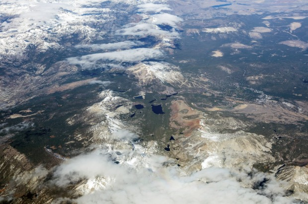 UA2093  – Dallas-Fort Worth to San Francisco (United Airlines). This has to be the most scenic route in the US, a ...