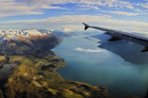 Flying into Queenstown is one of the most spectacular airport approaches as it takes you above lakes and rivers hemmed ...