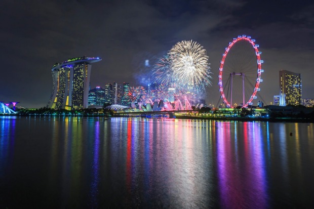 SINGAPORE: Asia's once most sedate city has become a lively place. New Year's Eve is an energetic celebration featuring ...