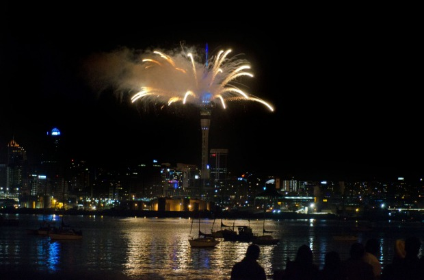 AUCKLAND: The first big city to welcome in the new year (sorry, Sydneysiders) is liveliest at Viaduct Basin down on the ...