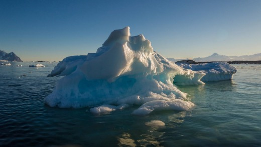 Every day provides a spectacular vista when cruising in the Antarctic.