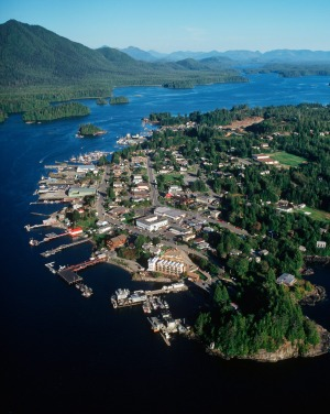Tofino is a signature tourist town.