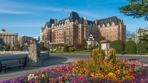 The Fairmont Empress Hotel, in Victoria, is one of Canada's most legendary hotels.