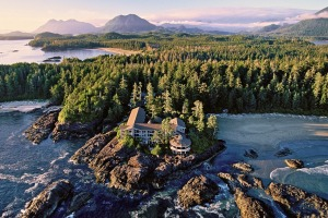 Hotels Wickaninnish Inn, Tofino, Canada.