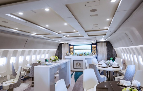 CRYSTAL AIR CRUISE, THE WORLD: And for the ultimate scenic flight - This fabulously fitted-out luxury private jet, ...