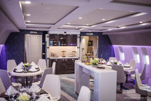 CRYSTAL AIR CRUISE, THE WORLD: And for the ultimate scenic flight … This fabulously fitted-out luxury private jet, ...