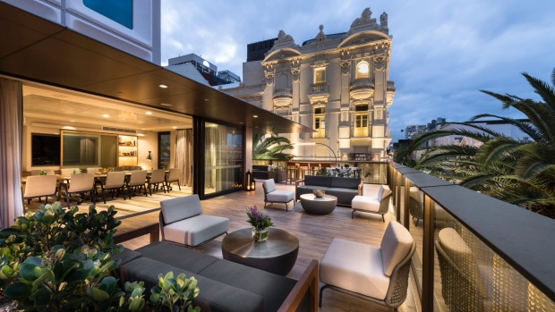 The Gallery Meeting Suites at Intercontinental Perth City Centre boast an impressive terrace.