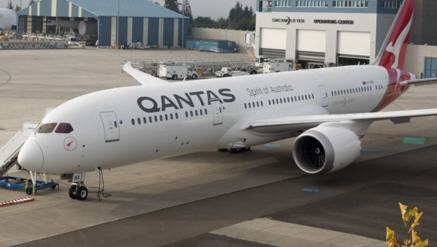 Qantas will fly a 787-9 Dreamliner on the Brisbane-Chicago route.