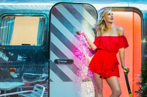 The Sunday Age, M section. Alternate ways to celebrate Christmas. Pic shows model Chontelle Berryman from Chadwicks at ...