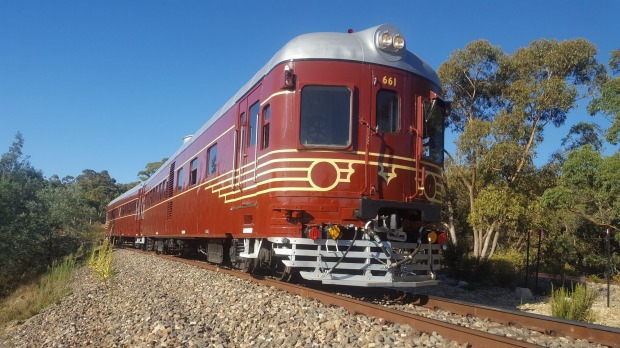 The Byron Bay Railroad Company train.