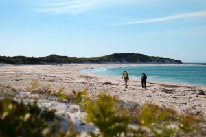 The Bay of Fires is part of the wukalina walk.