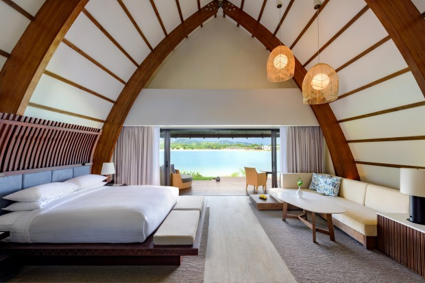 All up there's a choice of 10 different styles of rooms including the over-water bures, deluxe lagoon rooms (many of ...