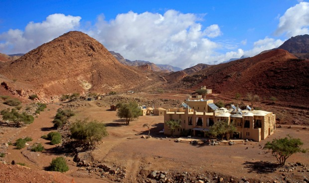 Feynan Ecolodge, Jordan: Three hours from the capital, Amman, Jordan's first ecolodge is a two-storey earthship that ...