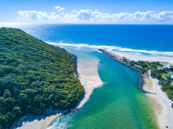 Australia's best beaches for 2018: No.5 Burleigh Heads, Talle Creek, QLD.