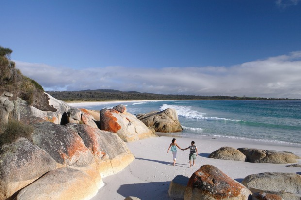Australia's best beaches for 2018: No.7 Bay of Fires, TAS.