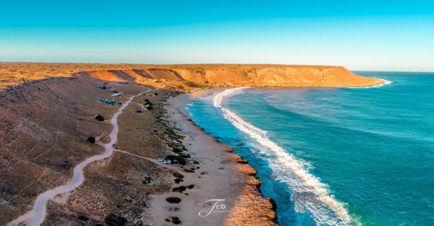 Australia's best beaches for 2018: No.8 Quobba - Red Bluff (WA)