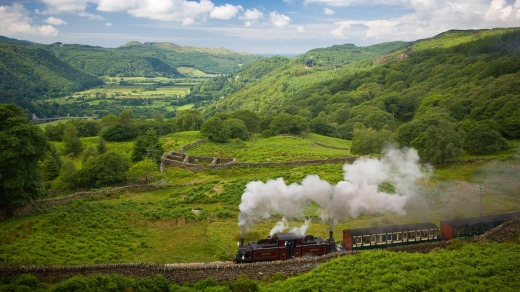 The Ffestiniog Railway has become one of the most popular attractions in north Wales.