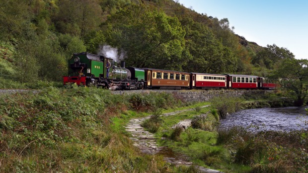 The Ffestiniog and Welsh Highland Railway, Snowdonia National Park.
