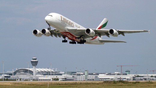 A flight on an Emirates A380 provided excellent trip updates from captain and crew and terrific take-off and landing ...