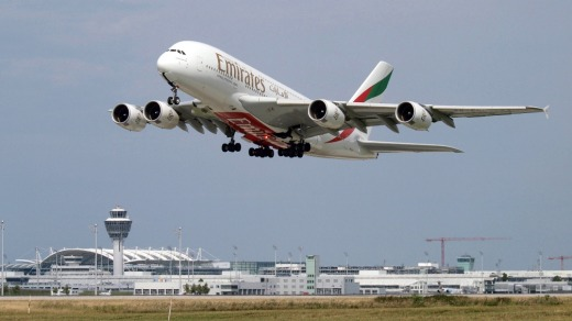 Sources say Emirates is considering switching some of its A380 orders to the smaller A350.