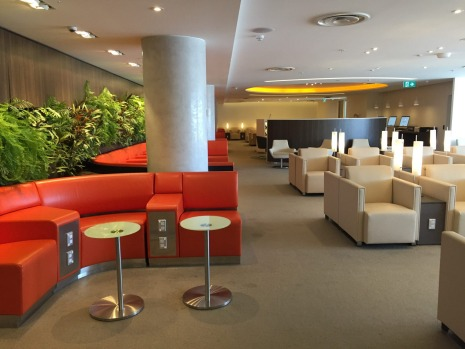 The SkyLounge at Sydney Airport.