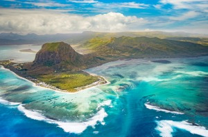 You can reach Mauritius in the Indian Ocean on a non-stop flight from Perth.