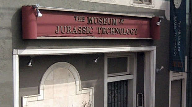 Bizarre but intriguing: The Museum of Jurassic Technology in Los Angeles.