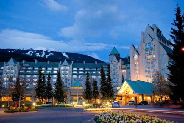 Chateau Whistler, Whistler: Although outdoorsy Vancouverites can famously ski in winter after work in the mountains that ...