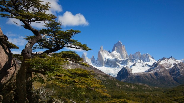 Spectacular walks abound in and around the magnificent Fitz Roy Range in Argentina.