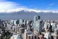 Santiago and the Andes.