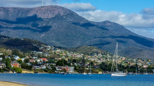 Tasmania is honoured on the list for its oysters, sparkling wines and 'booming culinary scene'.