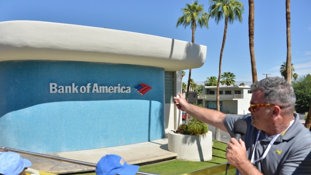 <i>The unique Bank of America.</i>