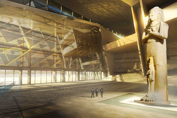 GRAND EGYPTIAN MUSEUM, CAIRO: More than 100,000 relics, including 4500 pieces of Tutankhamun's treasure, define the ...
