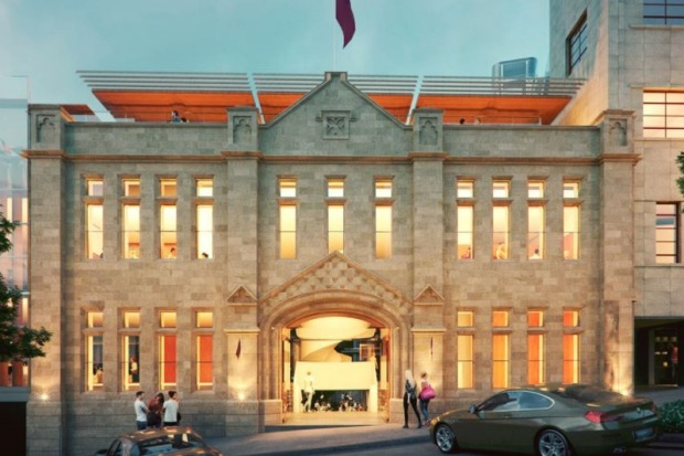 THE TASMAN, HOBART: When it opens mid- to late 2018, Marriott International's Luxury Collection hotel will inhabit a ...