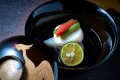 Ritz-Carlton, Kyoto's traditional Japanese food is comparable to any outside offerings.