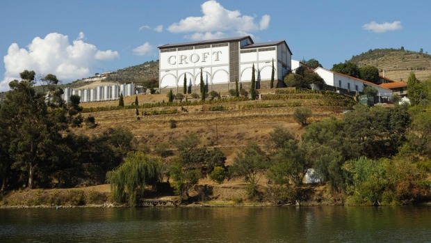 The Quinta da Roeda winery, which is famous for Croft port wine: Pinhao, Portugal.
