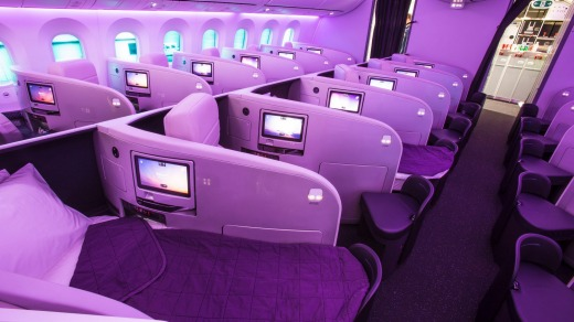 Guests will be vaccinated in business class before returning to the economy during their waiting period.