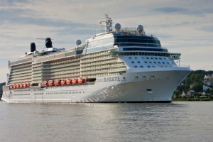 Celebrity Silhouette is large enough to accommodate 2886 passengers.